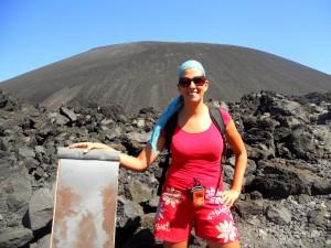 Katharina Volcano Boarding in Nicaragua (2)