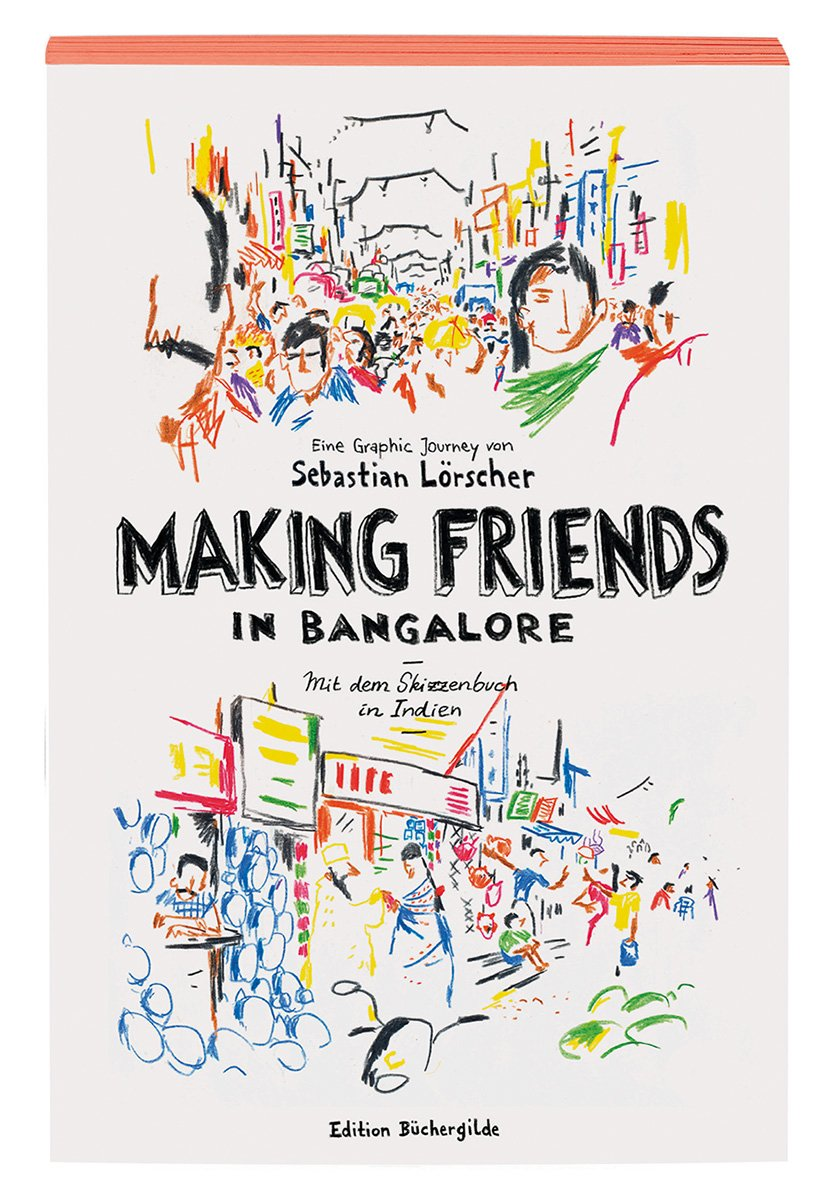 Sebastian Lörscher | Bildervortrag: Making Friends in Bangalore