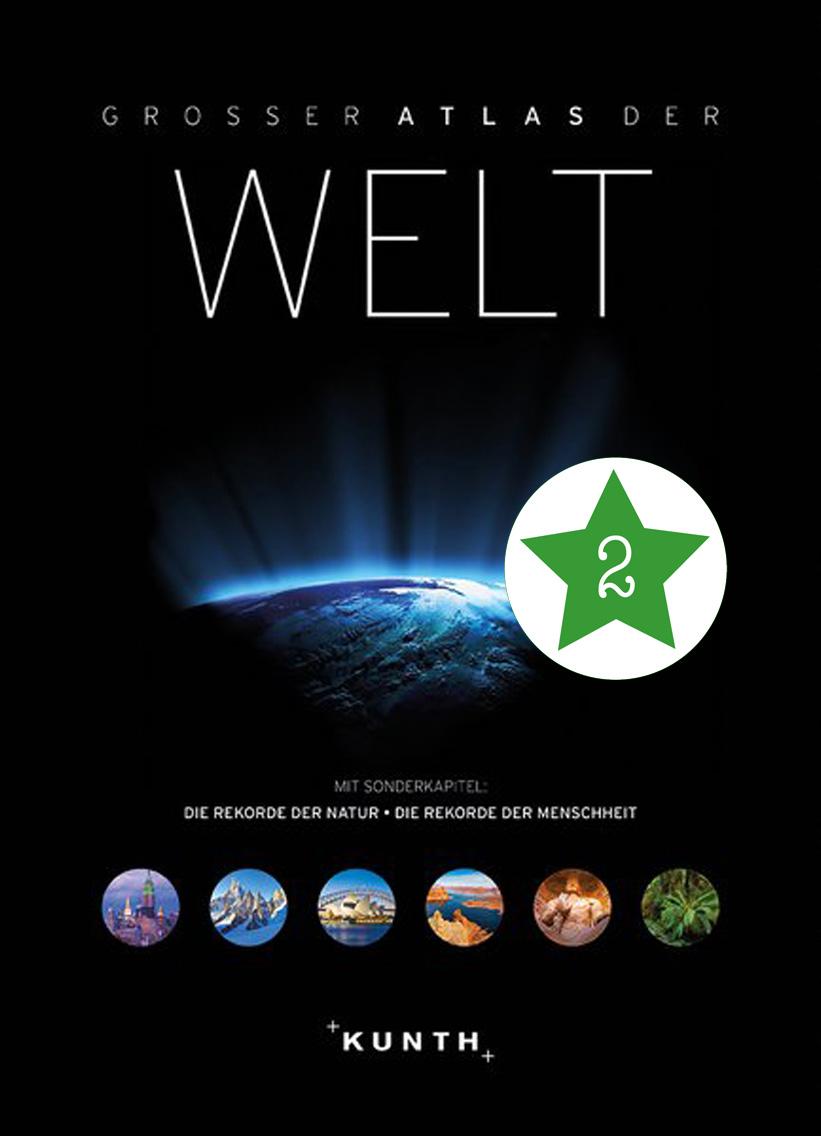 Neuheit – Der große Atlas der Welt