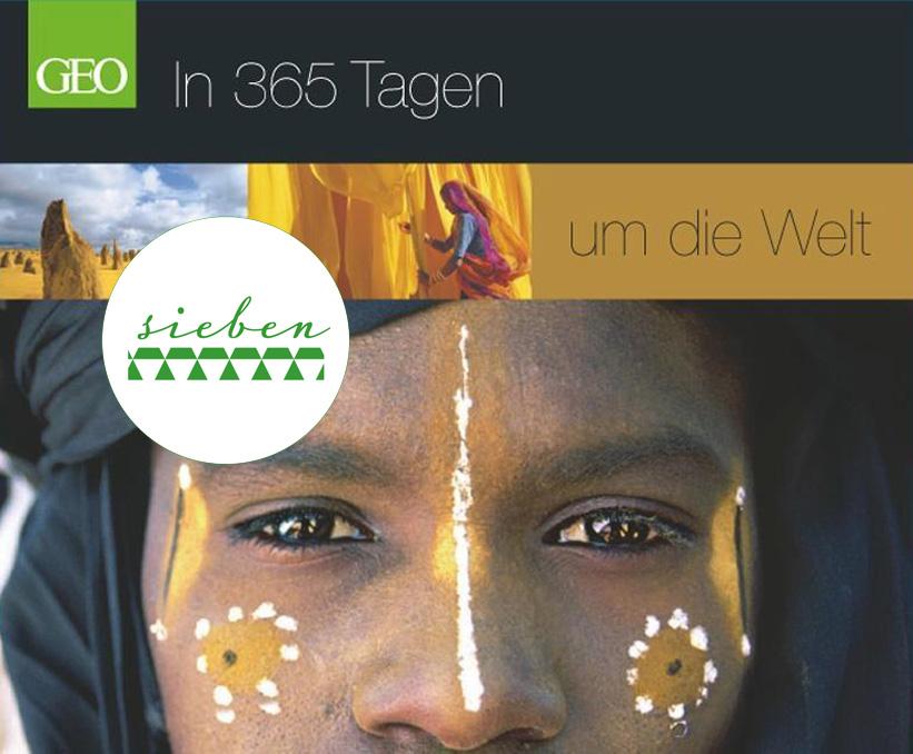 """Topseller – GEO-Tischkalender """"In 365 Tagen um die Welt"""""""