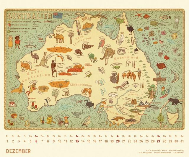 Alle welt kalender