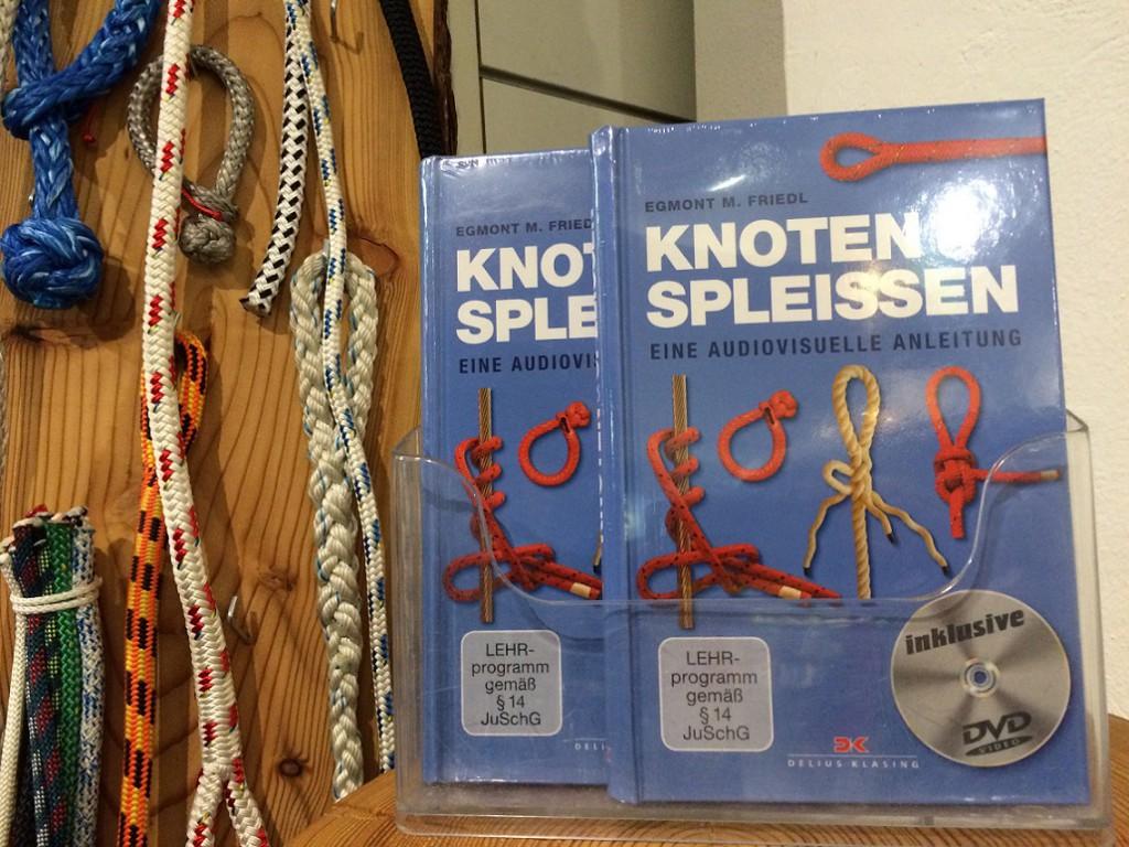 Knoten und Spleissen bei Geobuch