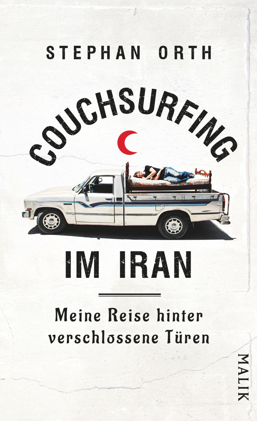 AUSVERKAUFT!!! Stephan Orth | Lesung #2: Couchsurfing im Iran