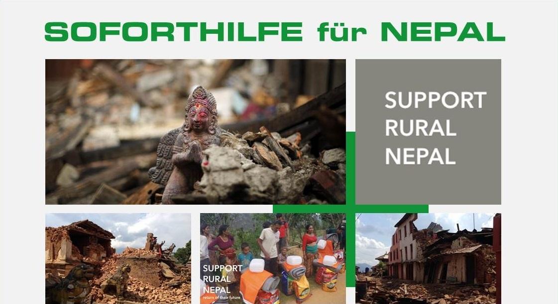 Spendenaktion für Nepal