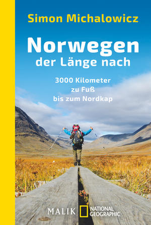Simon Michalowicz | Bilder-Vortrag: Norwegen der Länge nach, 3000 Kilometer zu Fuß bis zum Nordkap