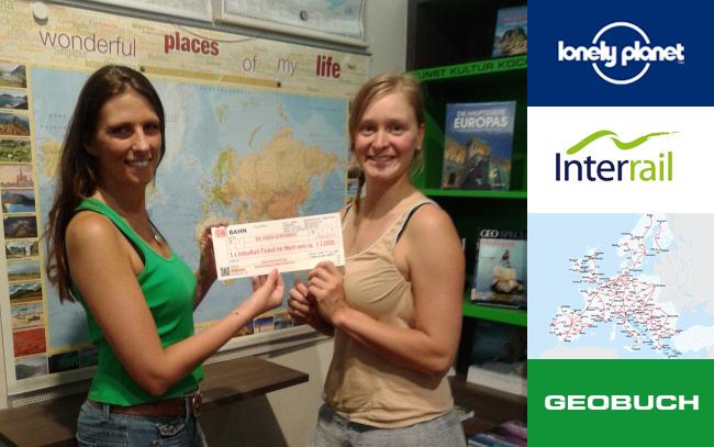 Unsere Gewinnerin vom Lonely Planet – InterRail – Gewinnspiel