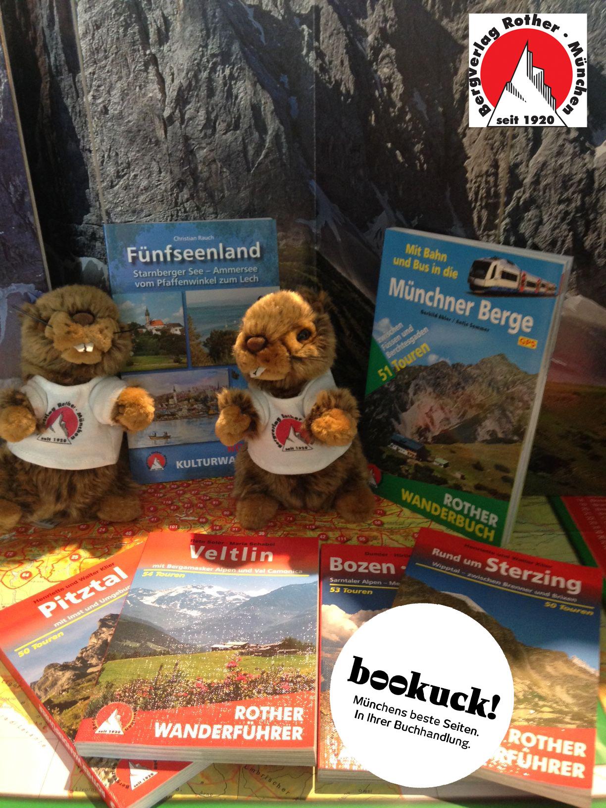Bergverlag Rother | Gewinnspiel und Wander-Quiz zum bookuck-Aktionstag