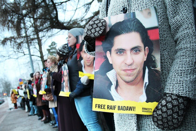 Neuheit – Freiheit für Raif Badawi, die Liebe meines Lebens