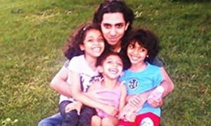 Raif Badawi und seine Kinder