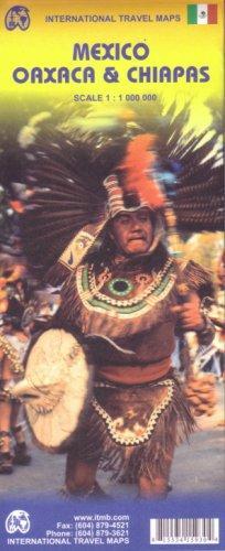 Mexico: Oaxaca & Chiapas Karte