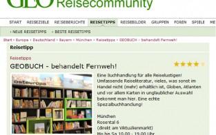 GEOBUCH in der GEO Reisecommunity