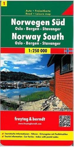 Reisetipp23-Norwegen-Süd-Karte