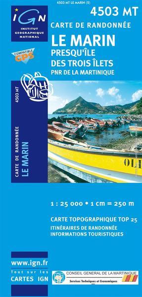 Île de la Martinique - MT Le Marin - Presqu`île des Trois Îlets