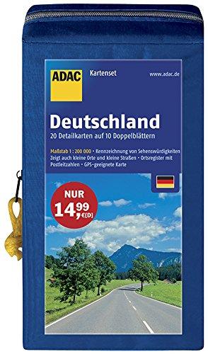 Kartentipp – ADAC KartenSet Deutschland 1:200.000