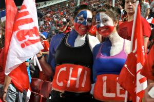 Chile Fußballfans