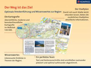 Kompass Fahrradführer München und Umgebung Kartografie