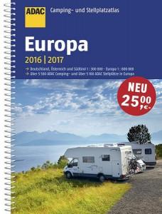 ADAC Camping- und Stellplatzatlas Europa 2016 - 2017