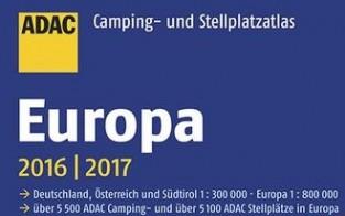 ADAC Camping- und Stellplatzatlas Europa quer