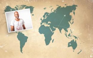 Boarderlines Welt mit Andi