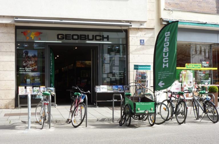GEOBUCH – jetzt neu mit Fahrradstellplätzen!!
