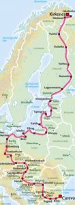 Iron Curtain Trail Route