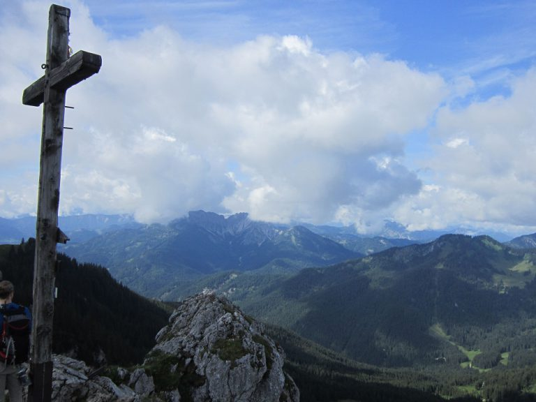 """GEOBUCH-Feldversuch """"Die große Spitzing-Reib´n"""": Christian Funk unterwegs mit dem Kompass x-treme Bayerische Alpen"""