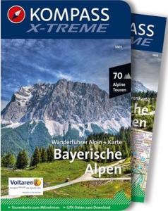 Kompass x-treme Bayerische Alpen Cover