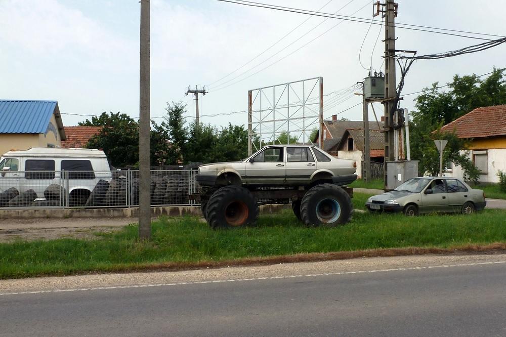 Monstertruck auf rumänisch