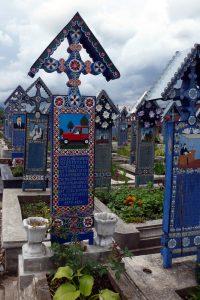 Rumänien Friedhof Sapanta