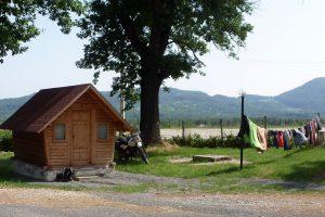 Rumänien Hütte Wäsche
