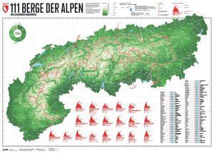111 Berge der Alpen