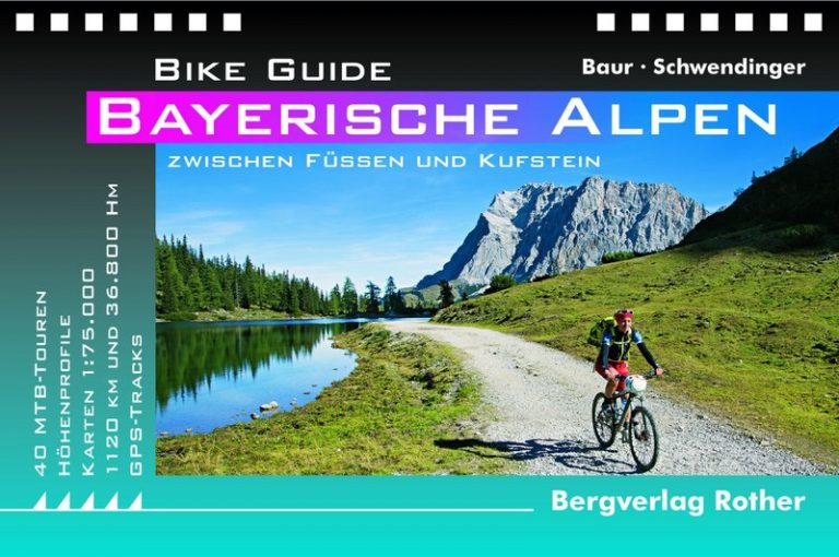 Neuheit: Rother Bike Guide Bayerische Alpen