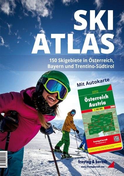 Neuheit: Freytag & Berndt Ski-Atlas Österreich, Bayern, Trentino-Südtirol